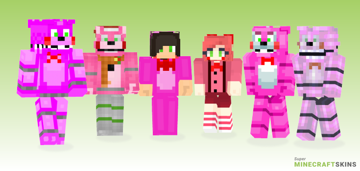 Bonnet Minecraft Skins - Best Free Minecraft skins for Girls and Boys