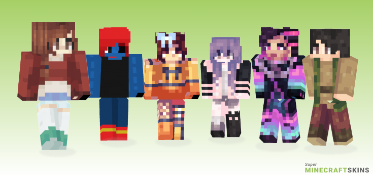 Boop Minecraft Skins - Best Free Minecraft skins for Girls and Boys