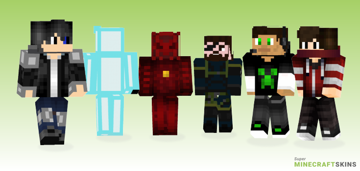 Boss Minecraft Skins - Best Free Minecraft skins for Girls and Boys