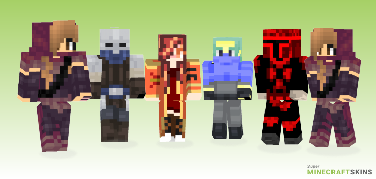 Bounty Minecraft Skins - Best Free Minecraft skins for Girls and Boys