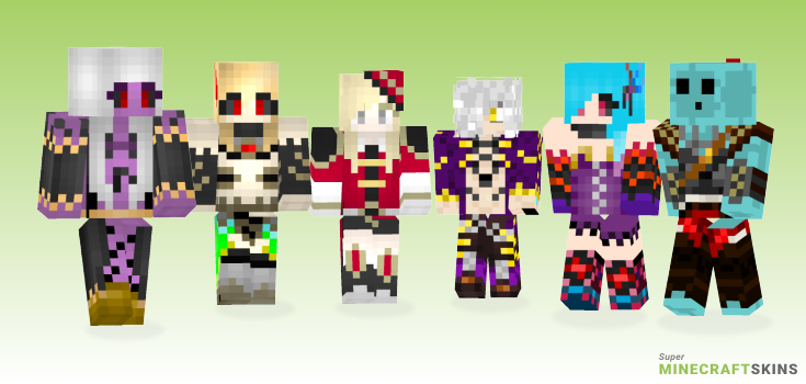 Brave Minecraft Skins - Best Free Minecraft skins for Girls and Boys