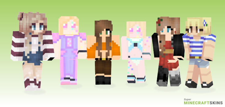 Breeze Minecraft Skins - Best Free Minecraft skins for Girls and Boys