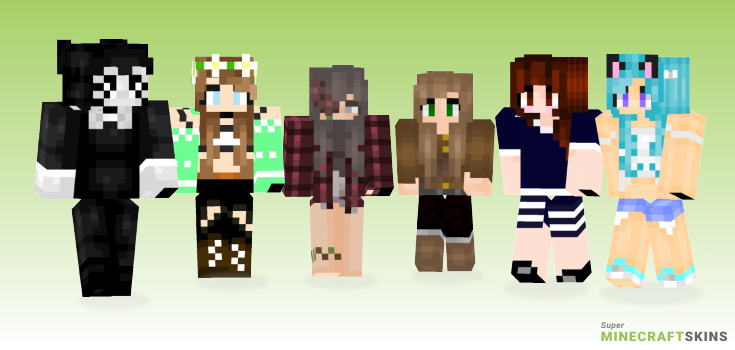 Brooke Minecraft Skins - Best Free Minecraft skins for Girls and Boys