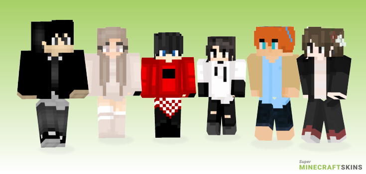 Bts Minecraft Skins - Best Free Minecraft skins for Girls and Boys