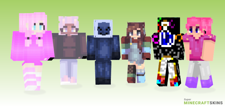 Bubble Minecraft Skins - Best Free Minecraft skins for Girls and Boys