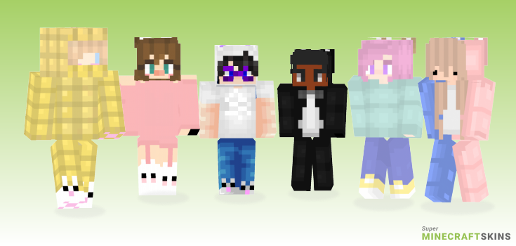 Bunny Minecraft Skins - Best Free Minecraft skins for Girls and Boys
