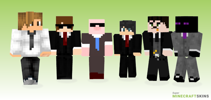 Business Minecraft Skins - Best Free Minecraft skins for Girls and Boys