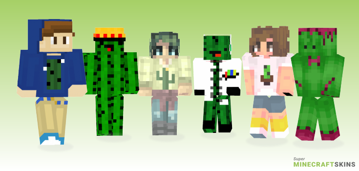 Cactus Minecraft Skins - Best Free Minecraft skins for Girls and Boys