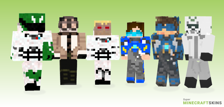 Cadet Minecraft Skins - Best Free Minecraft skins for Girls and Boys