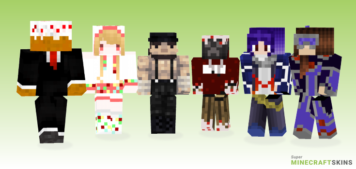Cake Minecraft Skins - Best Free Minecraft skins for Girls and Boys