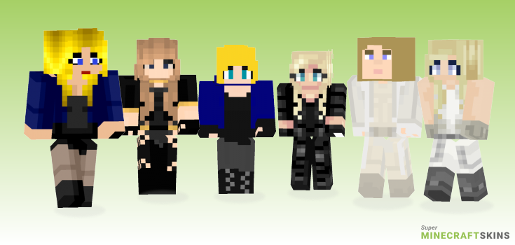 Canary Minecraft Skins - Best Free Minecraft skins for Girls and Boys