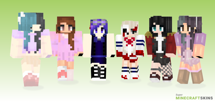 Carousel Minecraft Skins - Best Free Minecraft skins for Girls and Boys