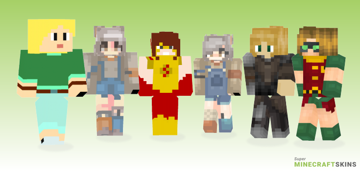 Carrie Minecraft Skins - Best Free Minecraft skins for Girls and Boys