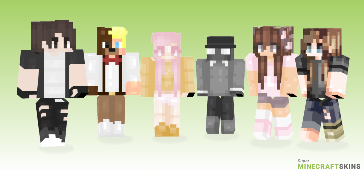 Change Minecraft Skins - Best Free Minecraft skins for Girls and Boys