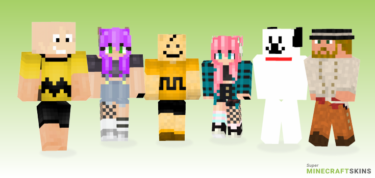 Charlie Minecraft Skins - Best Free Minecraft skins for Girls and Boys