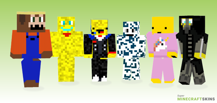 Cheese Minecraft Skins - Best Free Minecraft skins for Girls and Boys