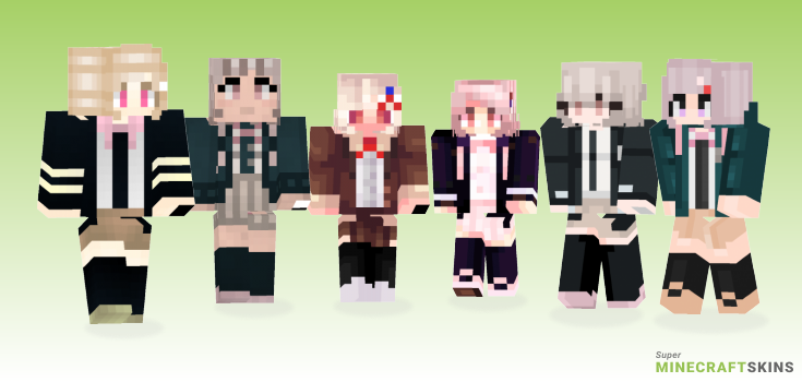 Chiaki Minecraft Skins - Best Free Minecraft skins for Girls and Boys