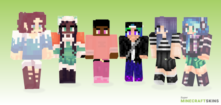 Chill Minecraft Skins - Best Free Minecraft skins for Girls and Boys