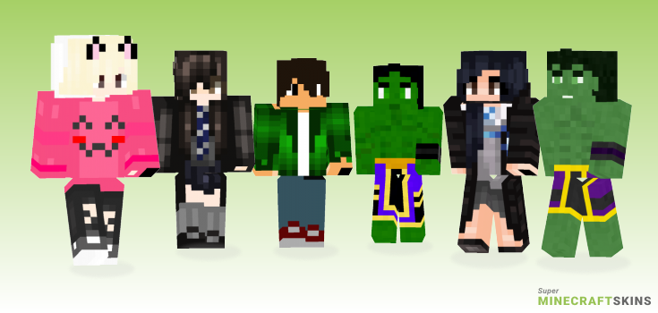 Cho Minecraft Skins - Best Free Minecraft skins for Girls and Boys