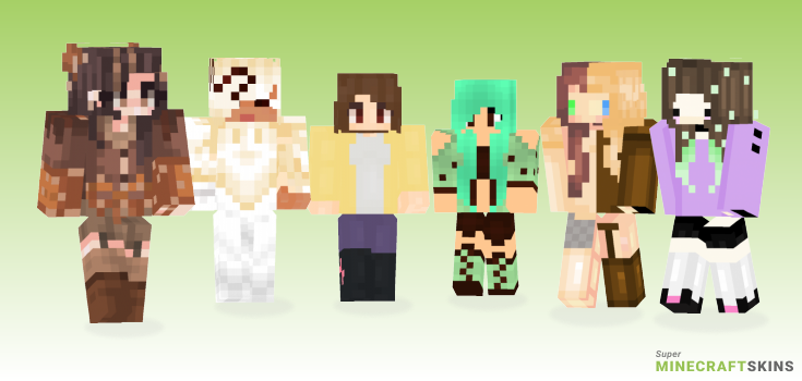 Choco Minecraft Skins - Best Free Minecraft skins for Girls and Boys