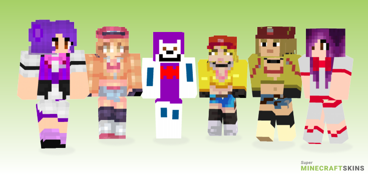 Cindy Minecraft Skins - Best Free Minecraft skins for Girls and Boys