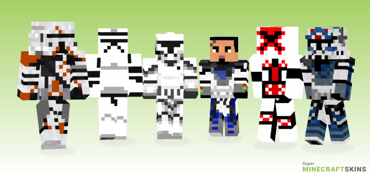 Clone Minecraft Skins - Best Free Minecraft skins for Girls and Boys
