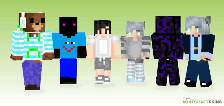 Clos Minecraft Skins - Best Free Minecraft skins for Girls and Boys
