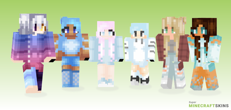 Clouds Minecraft Skins - Best Free Minecraft skins for Girls and Boys