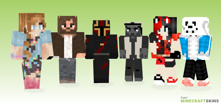 Comic Minecraft Skins - Best Free Minecraft skins for Girls and Boys