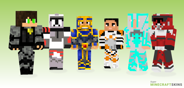 Commander Minecraft Skins - Best Free Minecraft skins for Girls and Boys