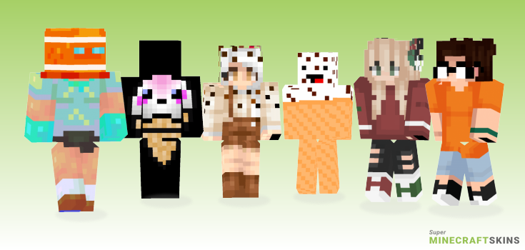 Cone Minecraft Skins - Best Free Minecraft skins for Girls and Boys