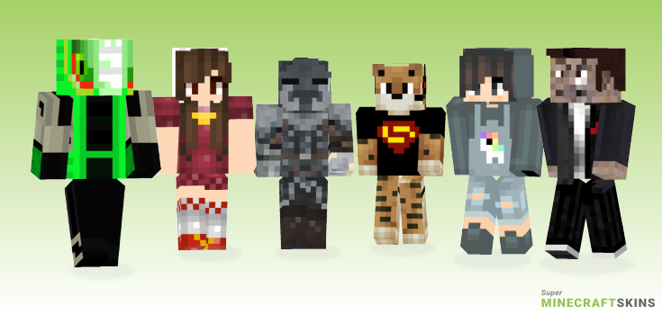 Craft Minecraft Skins - Best Free Minecraft skins for Girls and Boys