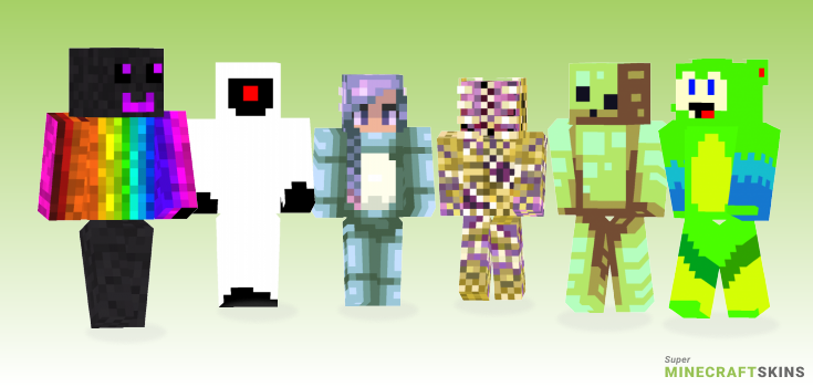 Creature Minecraft Skins - Best Free Minecraft skins for Girls and Boys