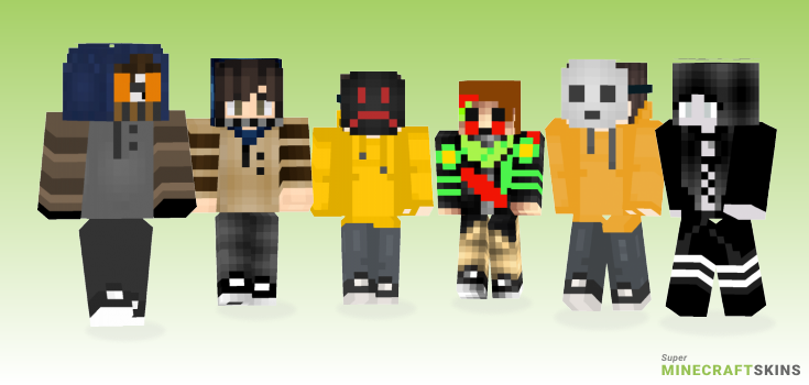Creepypasta Minecraft Skins - Best Free Minecraft skins for Girls and Boys