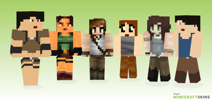 Croft Minecraft Skins - Best Free Minecraft skins for Girls and Boys