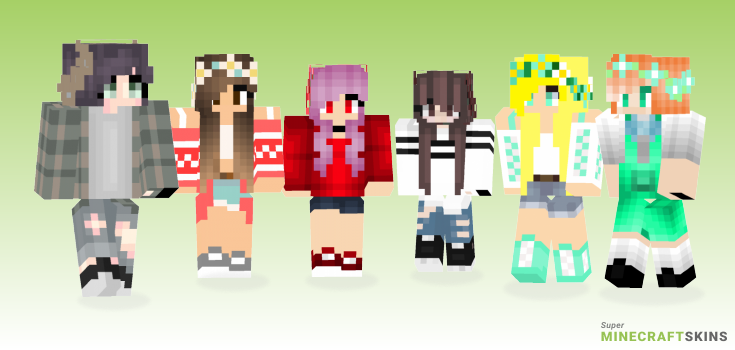 Crown Minecraft Skins - Best Free Minecraft skins for Girls and Boys