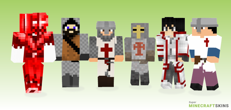 Crusader Minecraft Skins - Best Free Minecraft skins for Girls and Boys