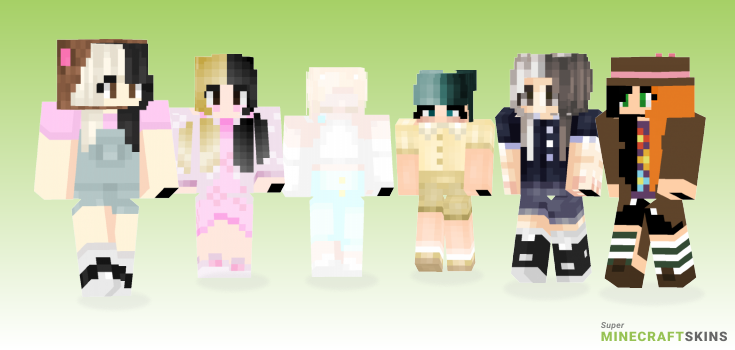 Cry baby Minecraft Skins - Best Free Minecraft skins for Girls and Boys