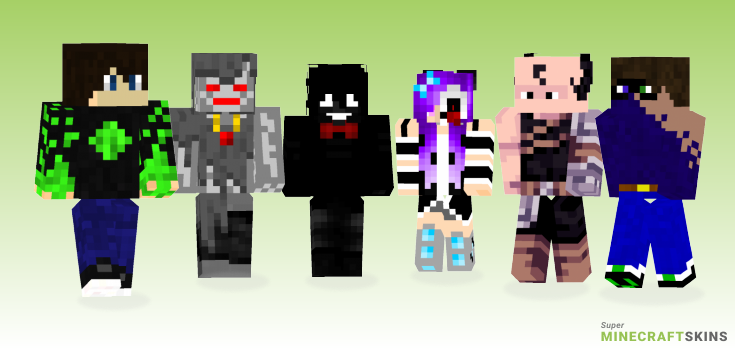 Cursed Minecraft Skins - Best Free Minecraft skins for Girls and Boys