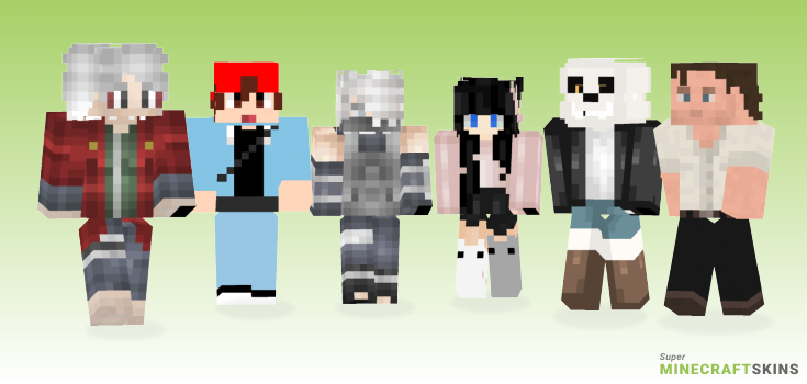 Custom Minecraft Skins - Best Free Minecraft skins for Girls and Boys