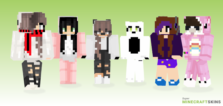 Cute Panda Minecraft Skins Download For Free At