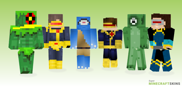 Cyclops Minecraft Skins - Best Free Minecraft skins for Girls and Boys