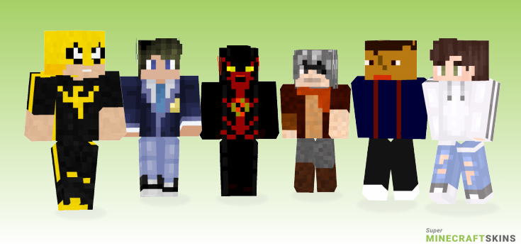 Daniel Minecraft Skins - Best Free Minecraft skins for Girls and Boys