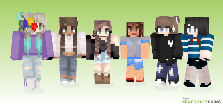 Darling Minecraft Skins - Best Free Minecraft skins for Girls and Boys