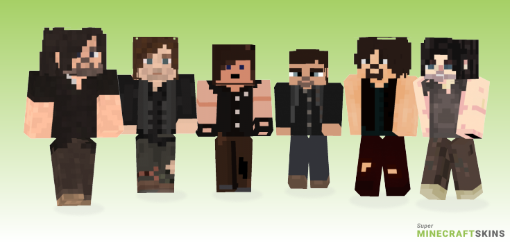 Daryl Minecraft Skins - Best Free Minecraft skins for Girls and Boys