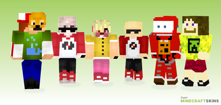 Dave Minecraft Skins - Best Free Minecraft skins for Girls and Boys