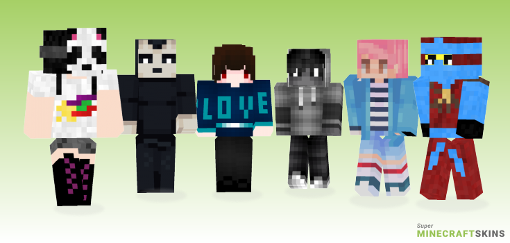 Day Minecraft Skins - Best Free Minecraft skins for Girls and Boys