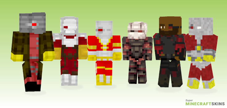 Deadshot Minecraft Skins - Best Free Minecraft skins for Girls and Boys