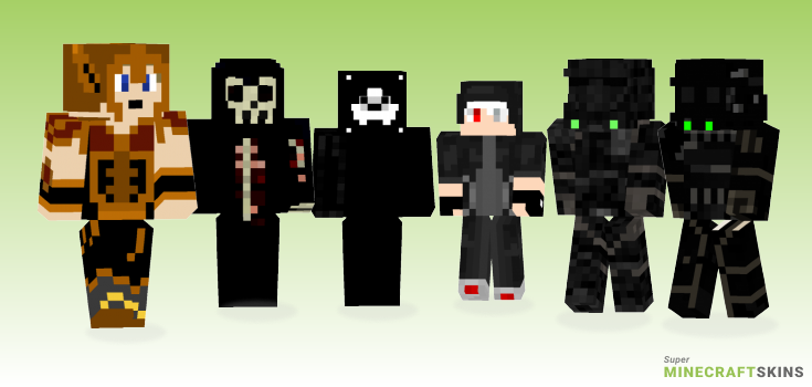 Death Minecraft Skins - Best Free Minecraft skins for Girls and Boys