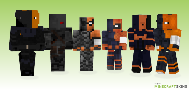 Deathstroke Minecraft Skins - Best Free Minecraft skins for Girls and Boys